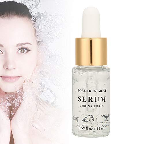 Essence de raffermissement des pores Rétrécissant les pores hydratante hydratante réparatrice Élimine le sérum de soin des points noirs - 15 ml
