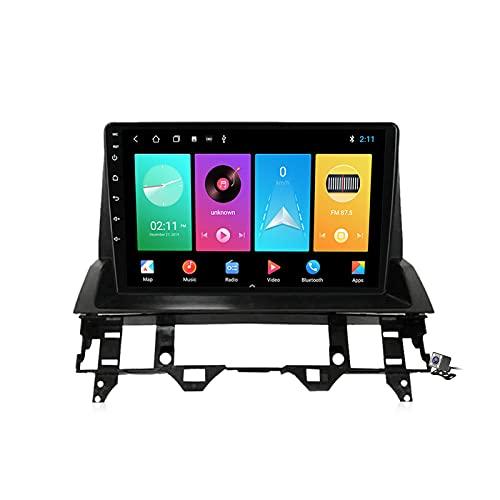 Gokiu Pantalla Coche Android 10 Radio 2 DIN Compatible con Mazda 6 2002-2008 Soporta Llamadas Manos Libres/FM Am RDS Radio/Carplay Android Auto/Navegación GPS/Control Volante/Voice Control,M100