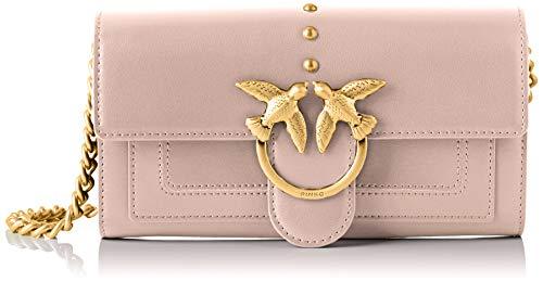 Pinko Houston Wallet, Portafoglio Donna, Rosa (Light Pink), 3x12x19 cm (W x H x L)