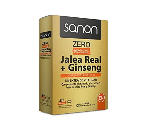 Sanon SANON Jalea Real + Ginseng ZERO 10 ampollas de 10 ml 203 g