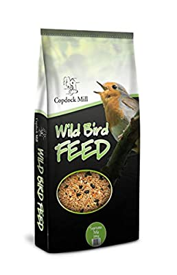 20kg Wild Bird Seed Premium Quality Food Mix. Garden Outdoor Feeders Table Box from Copdock Mill