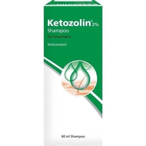 Ketozolin 2%, 60 ml Shampoo