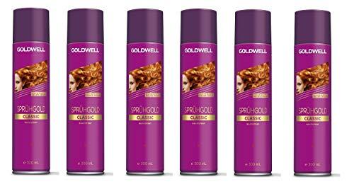 Goldwell Sprühgold Aerosole Classic 6 x 300 ml Haarspray
