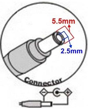 TOP CHARGEUR * Netzteil Netzadapter Ladekabel Ladegerät 29V 2A für Ersatz ZB-A290020 Stecker: 5.5mm * 2.5mm