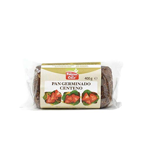 Pan germinado de centeno La Finestra Sul Cielo 400 g
