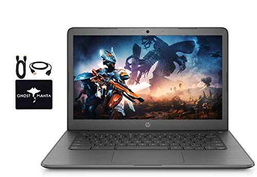 """cheap 2020 Latest HP Chromebook 14 """"HD Business and Student Laptops, Intel Celeron N3350, Webcams, …"""
