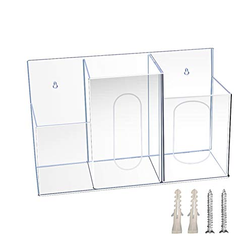 AOUSTHOP 3 Compartment Hygiene Station w/Wall Mounting Holes