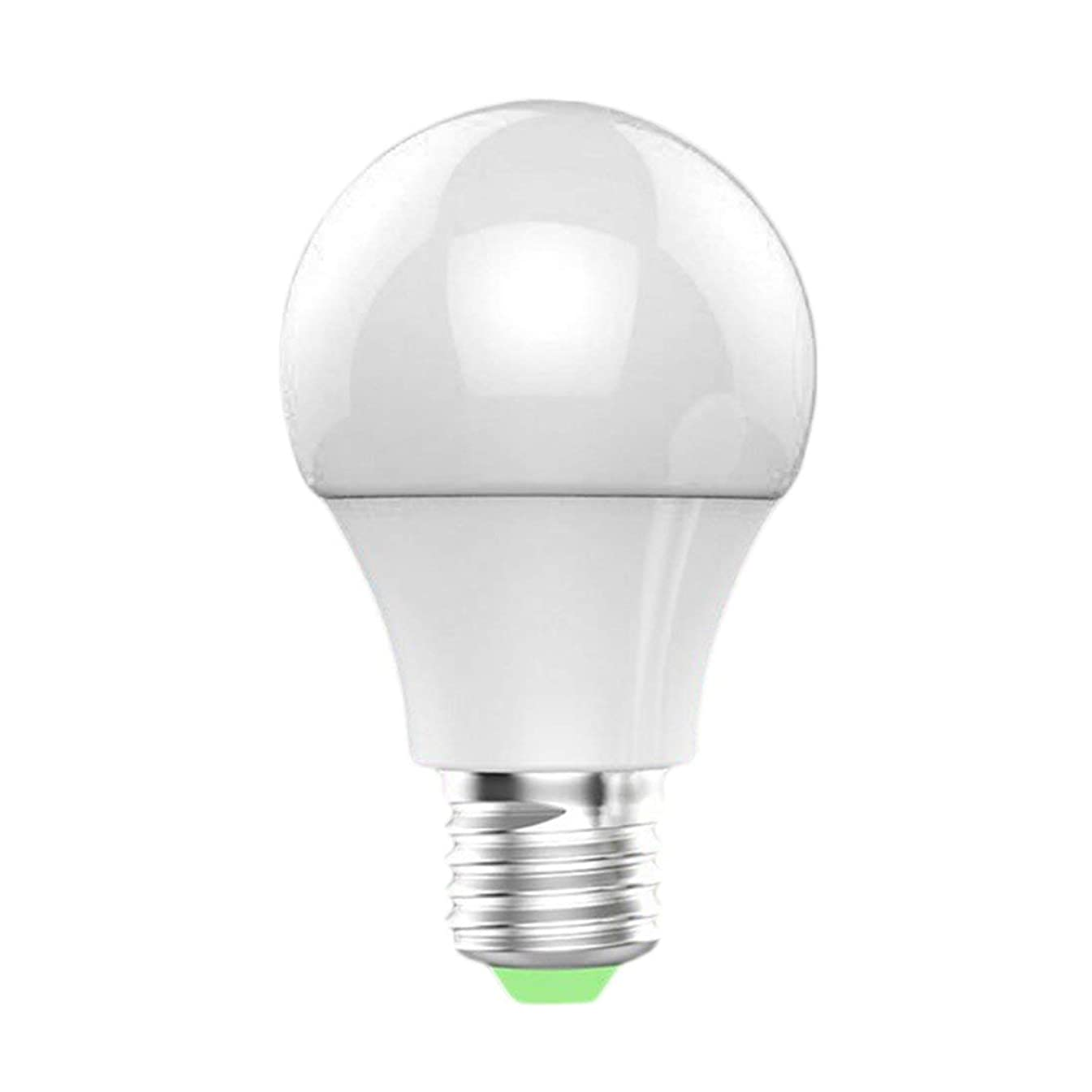 Baynne Mini Color Cell Phone App Remote Sensing Control Wi-Fi Smart LED Bulb Light Compatible with Alexa/Google Home