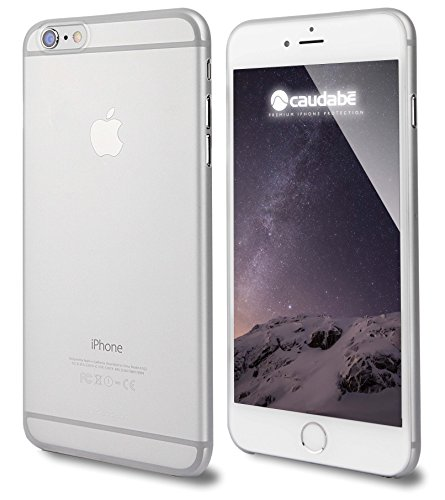 Caudabe The Veil Ultra-Thin Case for iPhone 6 Plus / 6S Plus - Frost (Retail Packaging)