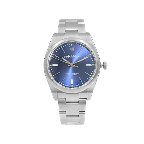 Fashion Shopping Rolex Oyster Perpetual 39 Automatic Blue Dial Men's Watch 114300BLSO