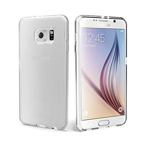 Finemoco Cover Samsung Galaxy S6 Custodia Trasparente Silicone Morbido Protezione Case Antiurto Gel TPU Gomma Flessibile Custodia Sottile Cover per Galaxy S6 SM-G920 - Cristallo Trasparente
