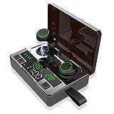 Wireless Headphones,IPX8 Waterproof Bluetooth Headphones190H Playtime Deep Bass Stereo Sound True Wireless Earphones