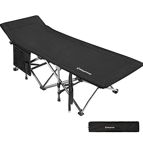 KingCamp Ultralight Compact Folding Camping Tent Cot Bed, 4.9 Pounds