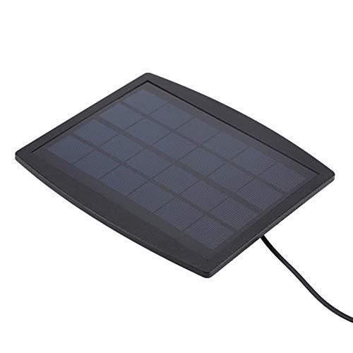 HCFSUK Luz de energía Solar, lámpara subacuática de Cabeza Triple de 18 LED con energía Solar, Foco de iluminación para jardín al Aire Libre