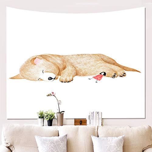 Tapiz De Estampado De Animales De Estilo Europeo Manta De Decoración De Pared De Moda Adecuado para Dormitorio, Hotel, Tapiz De Dormitorio, Manta De Sofá