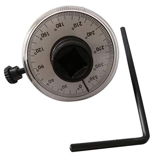 TIREOW Drehmoment Winkelmesser Kleiner Schraubenschlüssel Fahrt Winkelmesser Drehmoment Schlüssel Messgerät Vermesser Auto Garage Werkzeug Einstellbar