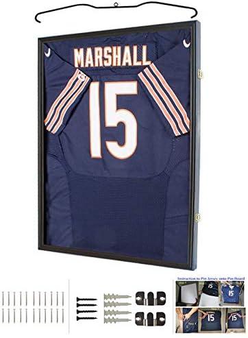 Amazon.com : Sport Jersey Display Frame Case Large Frames Shadow ...