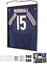 Jersey Display Frame Case Large Frames Shadow Box Lockable with UV Protection for Baseball Basketball Football Soccer Hockey Sport Shirt