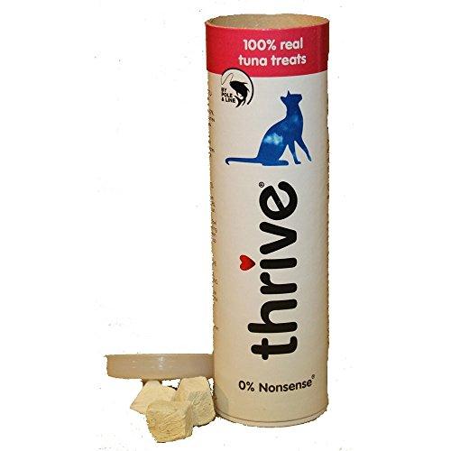 thrive Katzensnacks mit 100% Thunfisch, 1er Pack (1 x 25 g Packung)