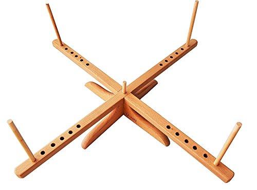 U-nitt Wooden Yarn Swift/Tabletop Style Medium TH072