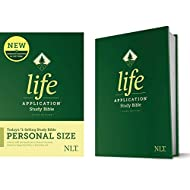 Tyndale NLT Life Application Study Bible, Third Edition, Personal Size (Hardcover) – New Living Translation Bible, Personal Sized Study Bible to Carry with you Every Day
