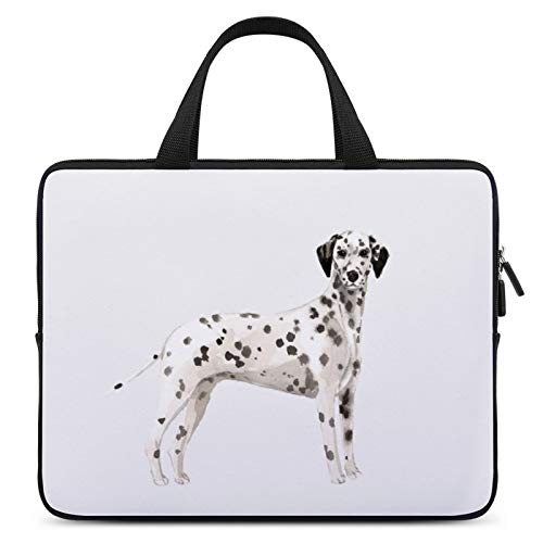 Universal Laptop Computer Tablet,Case,Cover for Apple/MacBook/HP/Acer/Asus/Dell/Lenovo/Samsung,Laptop Sleeve,Color for Dog Mammal Dalmatian Vertebrate Great Dane,17inch