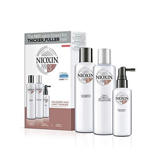 Nioxin System 3 Starter Set - für coloriertes Haar, 350 ml