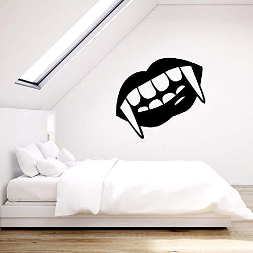Preisvergleich Produktbild Yologg 35X57Cm Vinyl Wandtattoo Lippen Aufkleber Wandbild