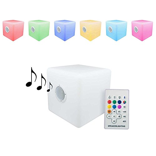 Cubo led Luminoso 40x40cm Altavoz Bluetooth portátil Cambio de Color ENNVÍO Gratis 24 Horas