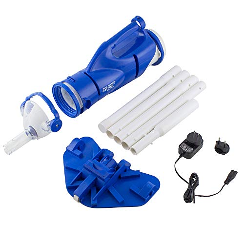 POOL BLASTER Catfish Ultra Rechargeable, Battery-Powered, Pool-Cleaner, Ideal for In-Ground Pools and Above Ground Pools for Cleaning Leaves, Dirt and Sand
