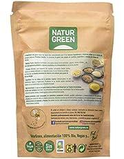 NaturGreen - Psyllium Bio, Cáscara de Semilla de Psyllium Molida, Sin Gluten, Ecológico, Alto Contenido en Fibra, 125 Gramos