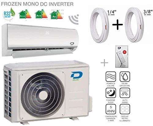 Diloc Wifi 18000 Btu Inverter Wand D.FROZEN.18 D.FROZEN118 Compressor Sharp + koperen buis koppel 1/4