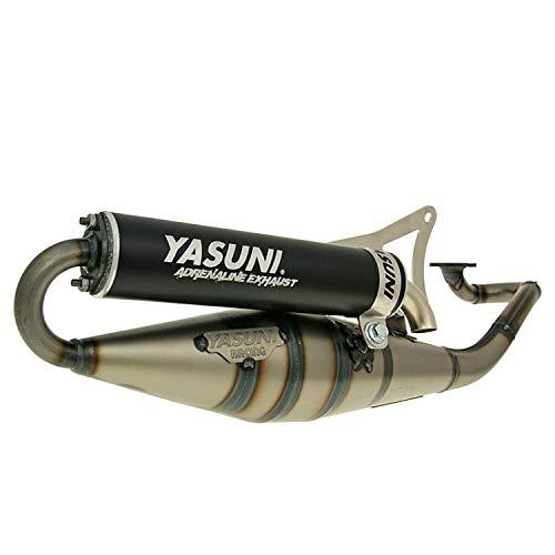 Tubo de escape Yasuni Scooter Z negro – Yamaha Aerox 50 (a partir de 1999) tipo: SA14