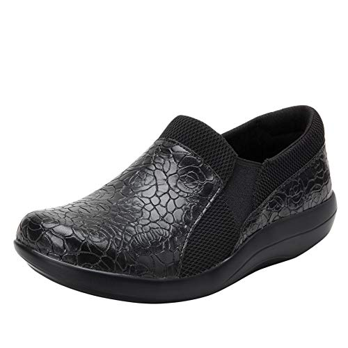 Alegria Duette Womens Professional Shoe Flourish Black 7 M US
