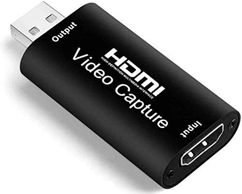 Video Capture Card, 4K HDMI to USB 2.0 Video Capture Device, 1080P HD 30fps...