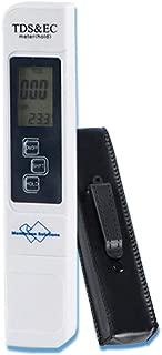 TDS Meter Digital Water Tester, Digital Water EC and Temperature Meter 3 in 1 Test Pen for Drinking Water, Aquariums,Pool