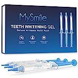 MySmile Teeth Whitening Gel Pen Refill Pack,...