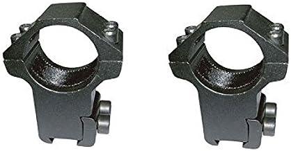 estandar carabina perdigon Par monturas para Visor telescopico de 30mm de diametro y 11mm de Anchura de Carril Altura 50mm.