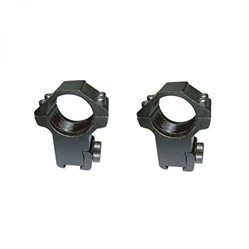 'Par Reittiere hoch für Spur 1(25,4mm) Durchmesser TELESCOPICO Sucher und 11mm breit (Standard Karabiner Perdigon).
