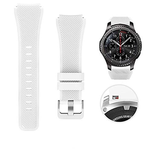 DALIANMAO Reloj De Reloj 22mm 20 Mm Banda De Silicona 46mm 42mm Correa Deportiva para Huawei (Band Color : Color 5, Band Width : For Huawei Watch GT)