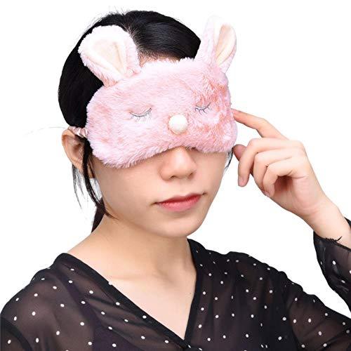Sizwea Cute Animal Plüsch Crown Sonnenbrille Reisetasche Blind Girl Gift, Rosa