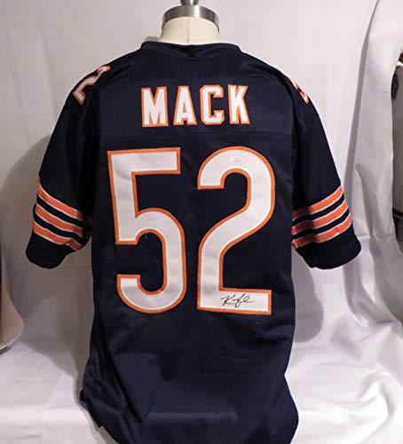 Khalil Mack Signed Chicago Bears Autographed Custom Jersey JSA