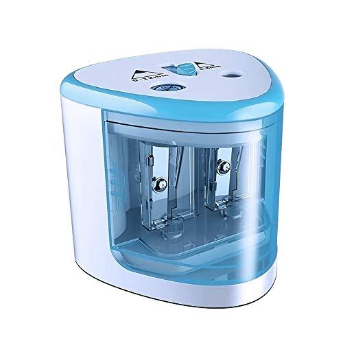 EisEyen Automatischer Batterieleistung Spitzmaschine Elektrischer Anspitzer, Spitzer Elektrisch Kleines Elektrisches Zubehör für Kinder Schule Klassenraum, bleistiftspitzer, Bleistifte, Buntstifte