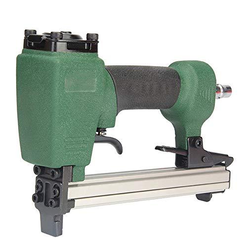 POQAQ Pistola neumática de uñas 1013J estilo U para muebles de madera y sofá de carpintería