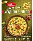 Haldiram's Minute Khana - Pulao de verduras listo para comer, 300 g