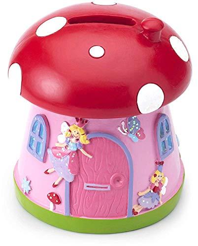 Mousehouse Gifts - Hucha infantil - Casa champiñón de princesas - Unisex