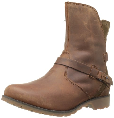 Teva Damen Delavina Low Kurzschaft Stiefel, Braun (Bison-BisBison-Bis), 36 EU