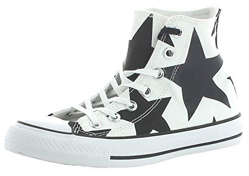 Converse Converse Damen Ctas Hi Sneakers, Mehrfarbig (White/Black/White), 36.5 EU