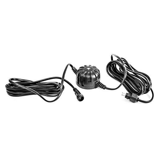 CLGarden 12V Dämmerungssensor Lichtsensor Helligkeitssensor Plug&Light System IP44 Stecksystem LED Strahler Set Springbrunnen Gartenbeleuchtung aussen