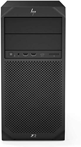 HP Z2 G4 Micro Tower Workstation, Core i7-9700 3/4,7 GHz 8 Core Prozessor, 16 GB DDR4, 1 TB Solid State Drive, Intel UHD Graphics 630, DVD RW, Windows 10 Pro